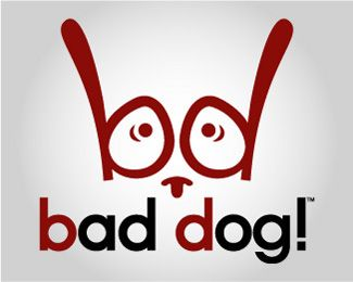 bad dog! eye logo