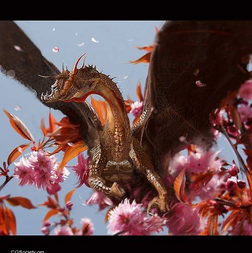 145 35 Awesome Examples Of Dragons Illustrations