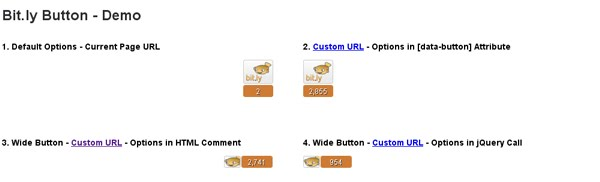 Bit.ly Button - jQuery Plugin for Your Clicky Post