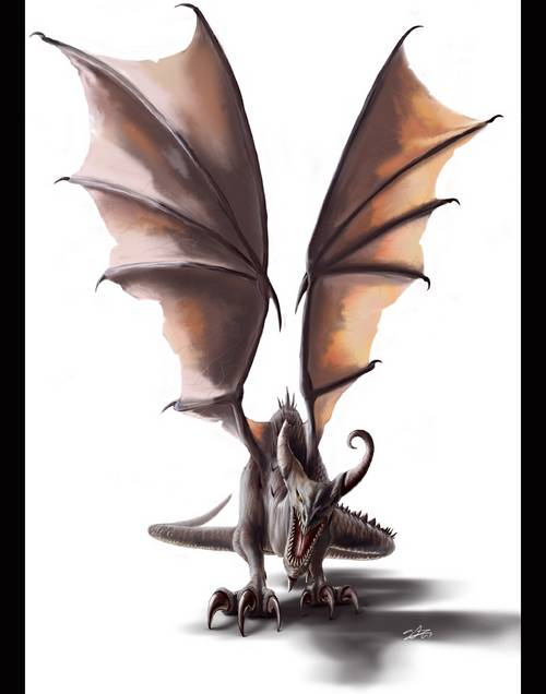 284 35 Awesome Examples Of Dragons Illustrations