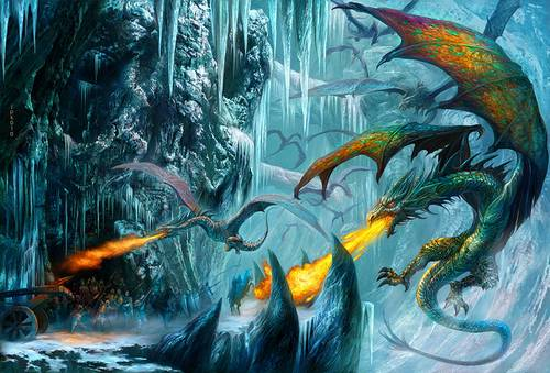 353 35 Awesome Examples Of Dragons Illustrations