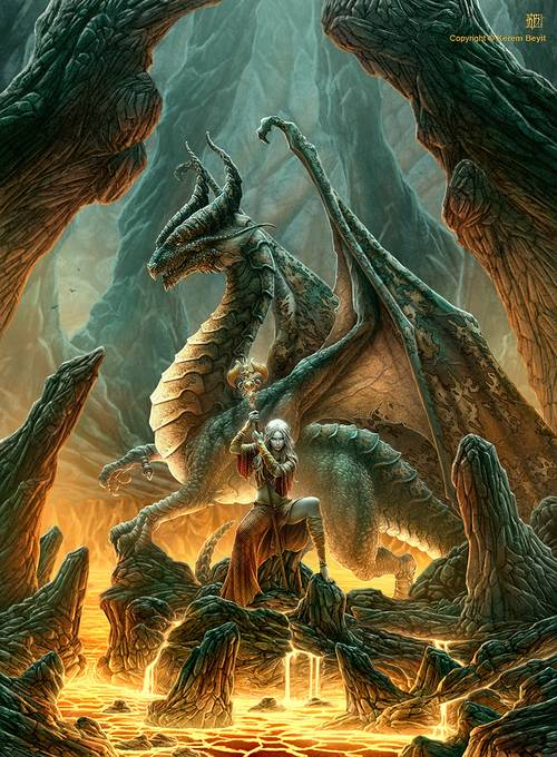 86 35 Awesome Examples Of Dragons Illustrations