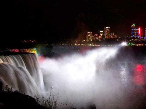 Niagara Falls U.S.A @ night