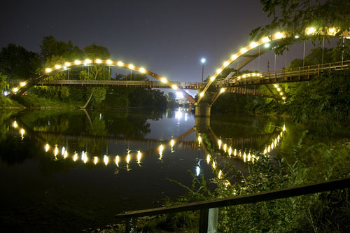 Tridge at Night