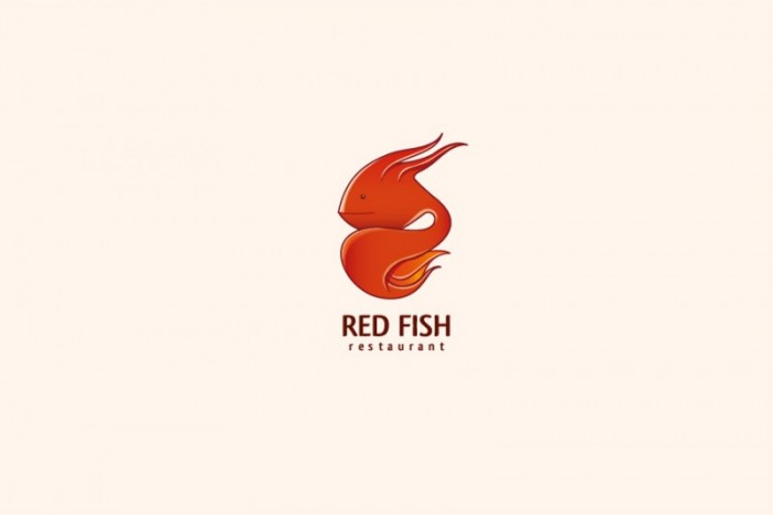 Red Fish Food Inspired Design
