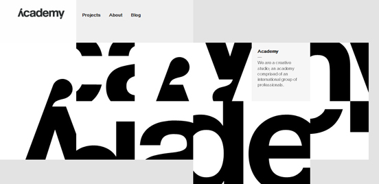 30 awesome black and white website for inspiration