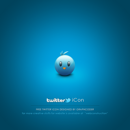 twitter iconset 22 30 Free And Useful Twitter Icon Sets
