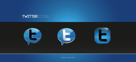 twitter iconset 24 30 Free And Useful Twitter Icon Sets