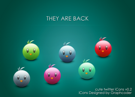 twitter iconset 26 30 Free And Useful Twitter Icon Sets