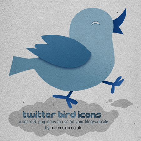 twitter iconset 28 30 Free And Useful Twitter Icon Sets