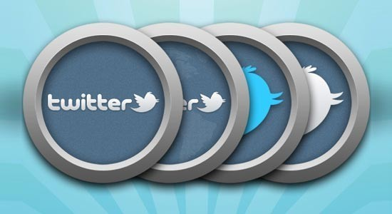 twitter iconset 3 30 Free And Useful Twitter Icon Sets