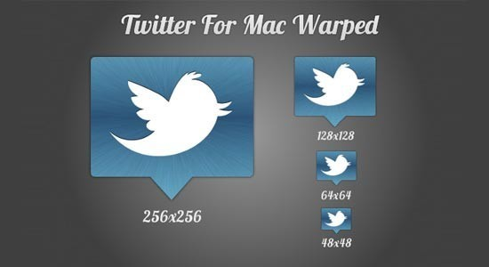 twitter iconset 4 30 Free And Useful Twitter Icon Sets