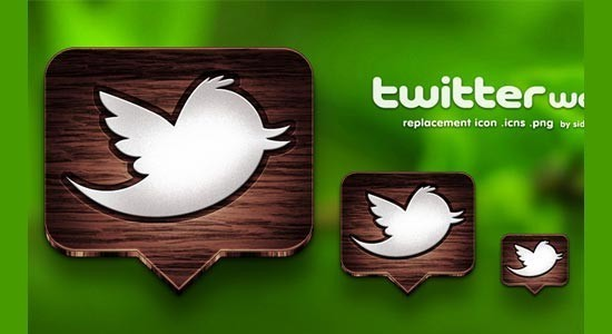 twitter iconset 6 30 Free And Useful Twitter Icon Sets