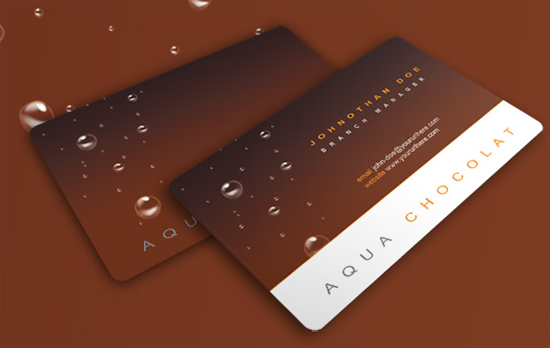 Free Business Card PSD free business card template