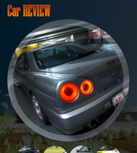 Car Review - free facebook template