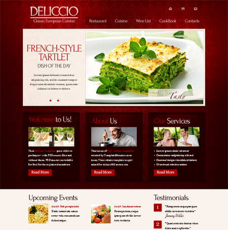 Restaurant - HTML5 And CSS3 Templates