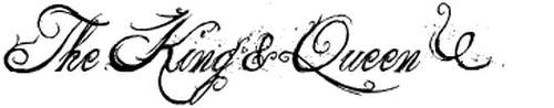 The King & Queen font