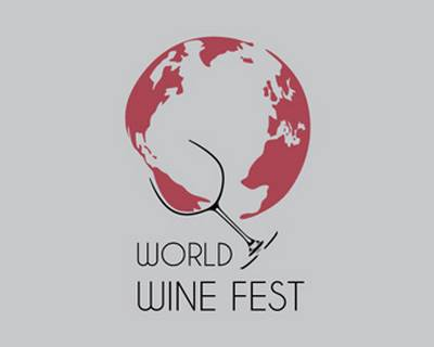 World Wine Fest by rbesigns - Globe Logo