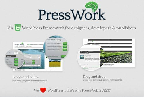 PressWork WordPress Theme