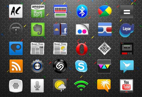 Android App Icons Set 2