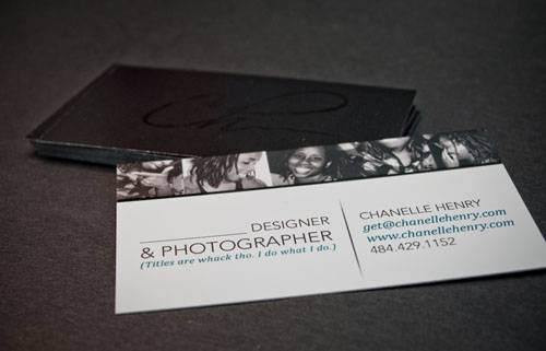 Chanelle Henry's Business Cards