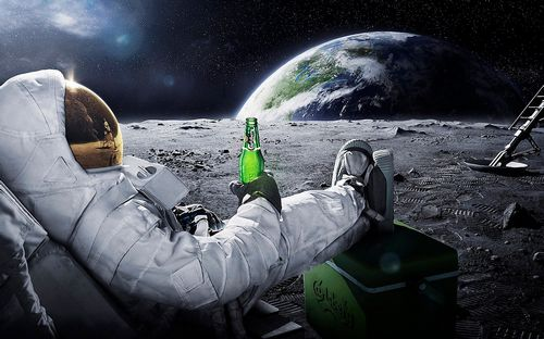 beers outer space earth