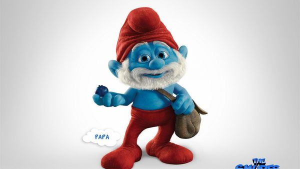 Papa Smurfs 2 Wallpaper