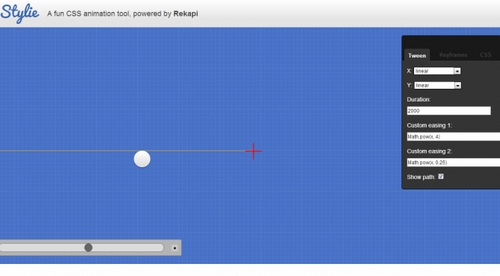 STYLIE CSS3 animation Tool