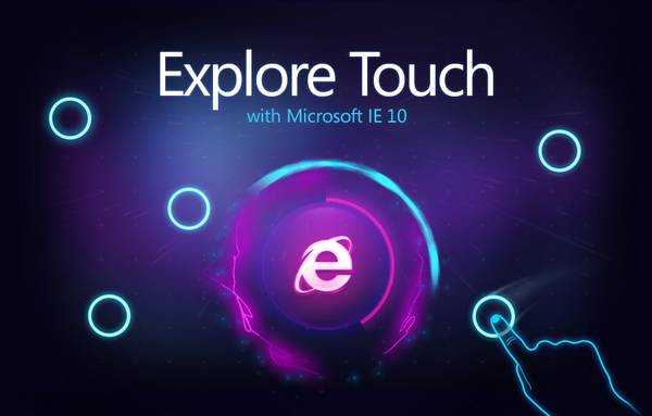 HTML5 websites : Explore Touch with Microsoft IE 10