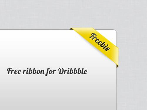 Freebie – Ribbon