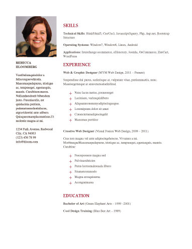 Neat - free resume templates