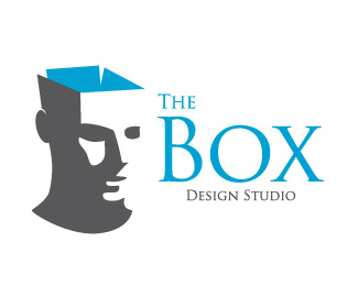 the box design studio - human face logo design