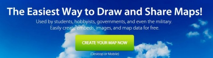 free tools for creating maps