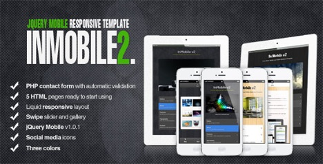 Beautifully designed jquery mobile templates for Jquery mobile login template