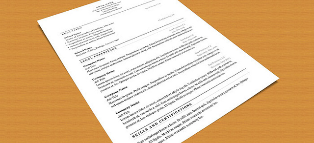 cover letter template - resume tips
