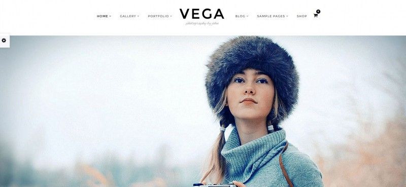4-Vega - WordPress Photography Themes