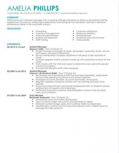 2-restaurant-manger-resume-sample
