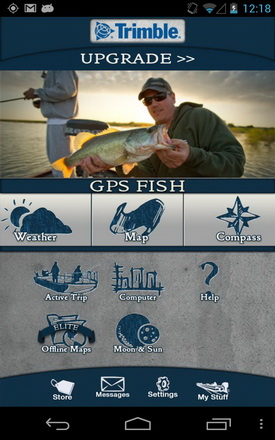 Trimble GPS Fish - fishing apps for android tablet