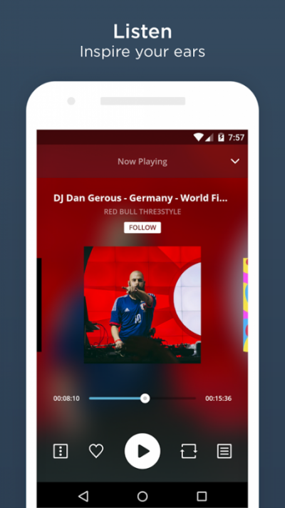 MixCloud - apps like spotify without ads