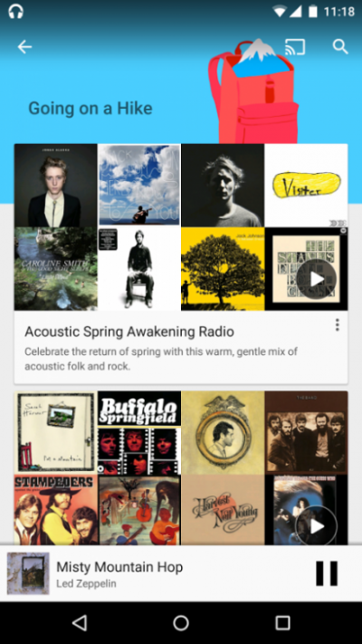 Google Play music - free apps just like spotify