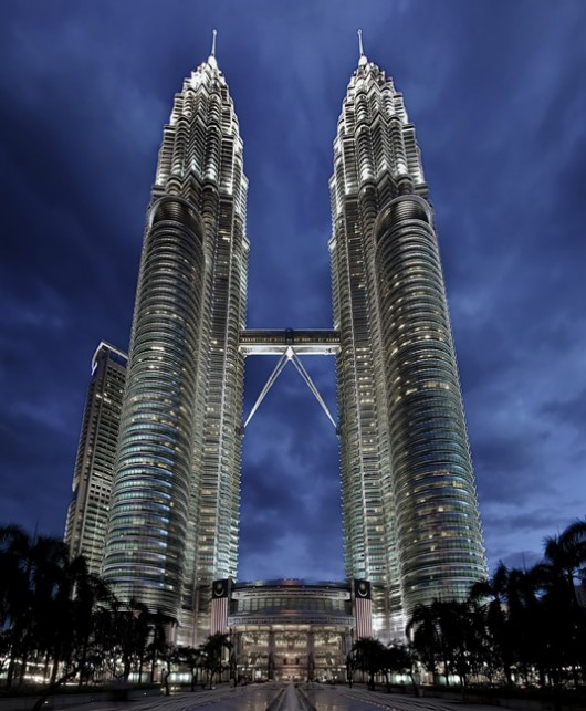 1. Petronas Towers - Famous Architecture