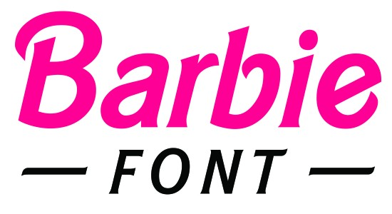 best barbie font for your next project rh bestfreewebresources com barbie doll logo font old barbie logo font