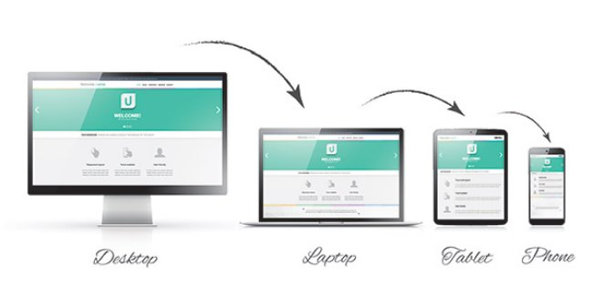 A responsive and Mobile friendly design
