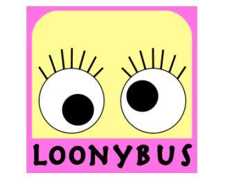 LoonyBus logo design