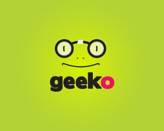 geeko eye logo