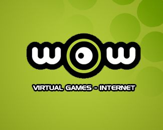 WOW eye logo
