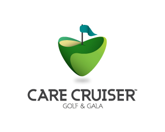 Care Cruiser Golf & Gala - Heart Logo Designs