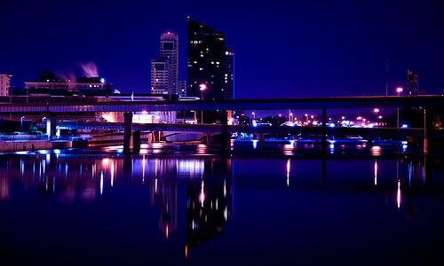 Moody Blue City