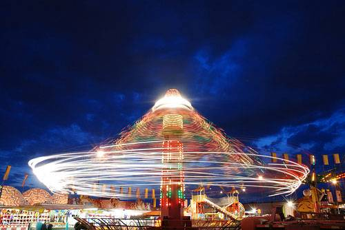 Carnival Light Trails