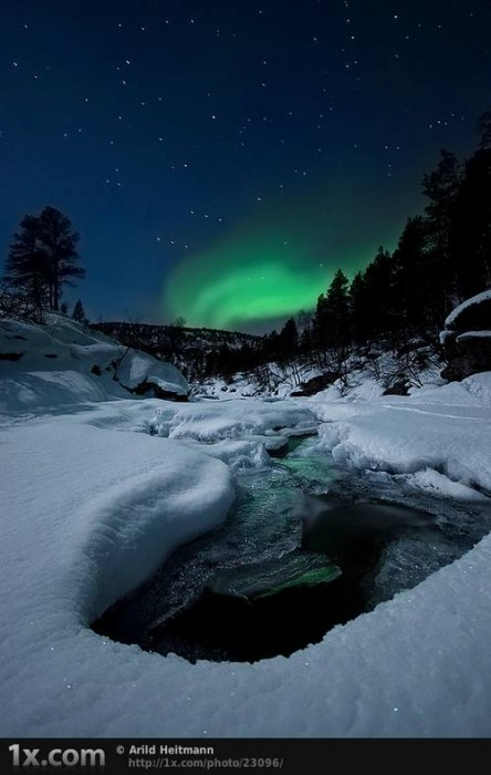Night by the River... © Arild Heitmann